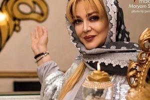 بهاره رهنما با هلکوپتر شخصی همسرش در کیش + فیلم