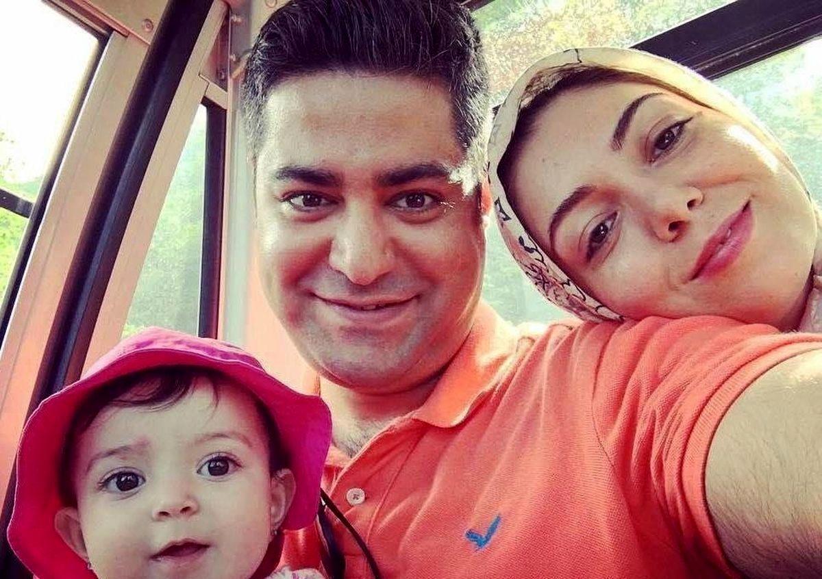 دختر همسر سابق فرزاد حسنی در پارک + عکس