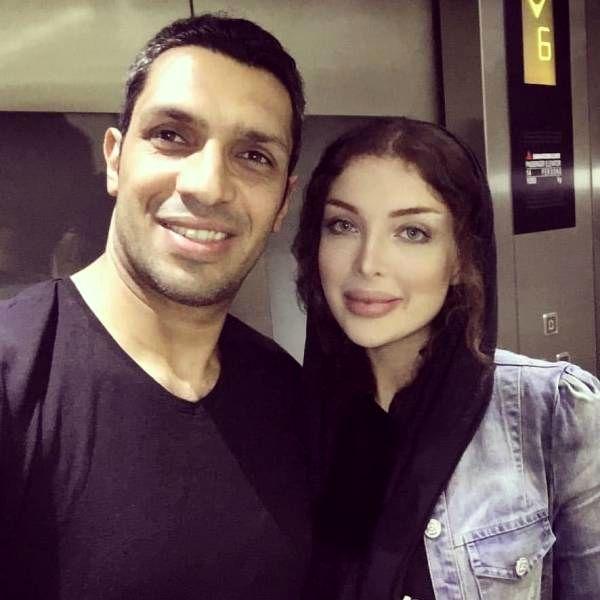 عکس های سپهر حیدری و همسرش